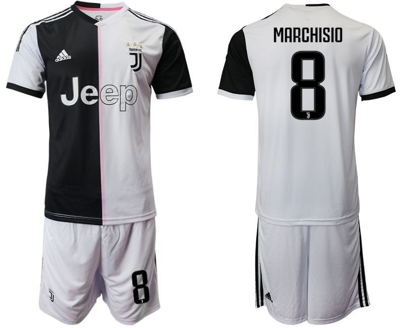 Men 2019-2020 club Juventus FC home 8 white Soccer Jerseys