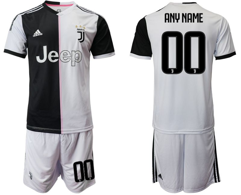 Men 2019-2020 club Juventus FC home white customized Soccer Jerseys