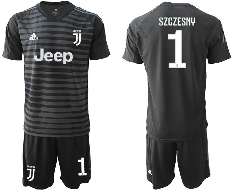 Men 2019-2020 club Juventus black goalkeeper 1 Soccer Jerseys1