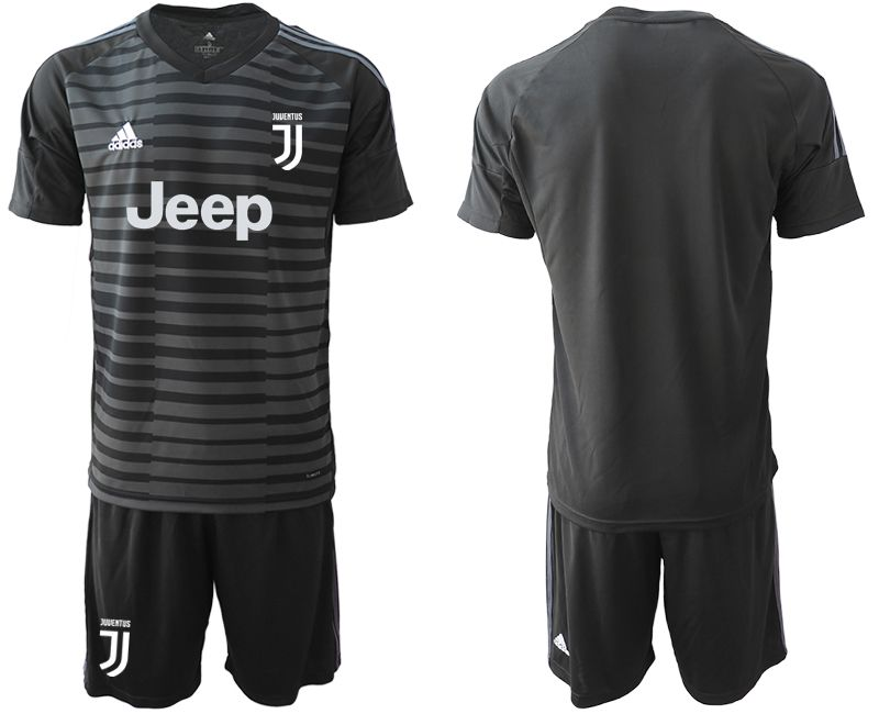 Men 2019-2020 club Juventus black goalkeeper Soccer Jerseys