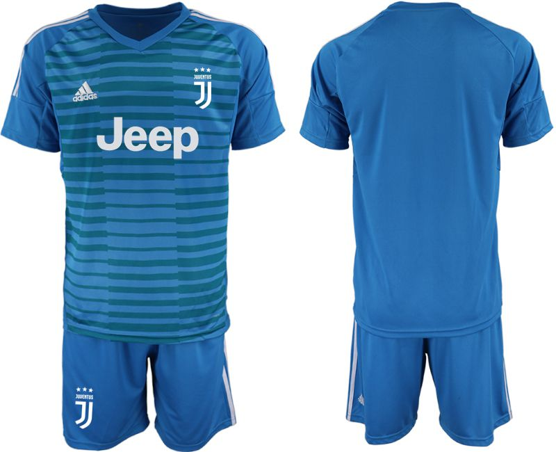 Men 2019-2020 club Juventus blue goalkeeper Soccer Jerseys