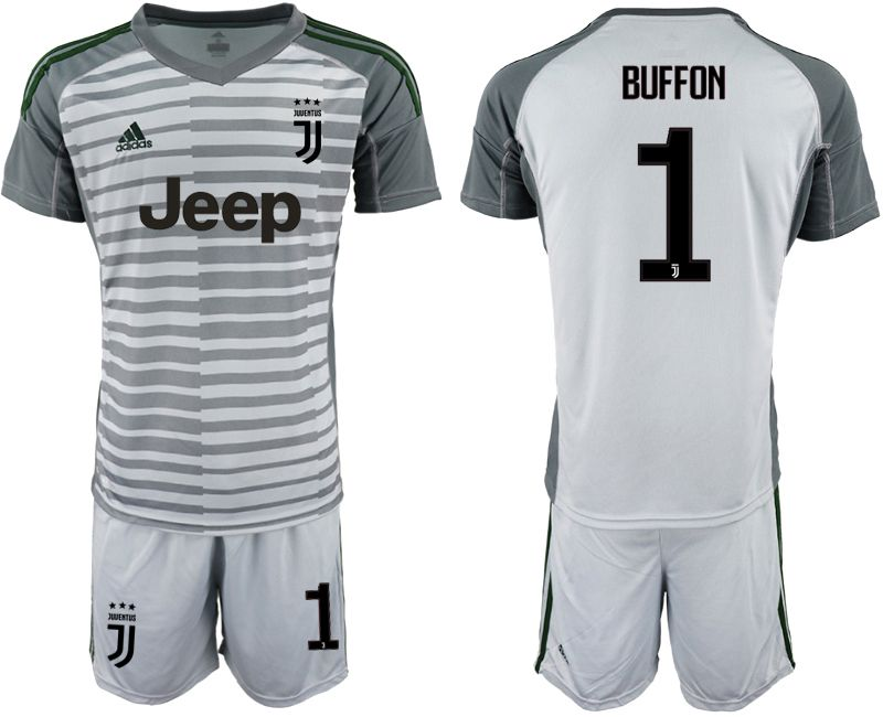 Men 2019-2020 club Juventus gray goalkeeper 1 Soccer Jerseys