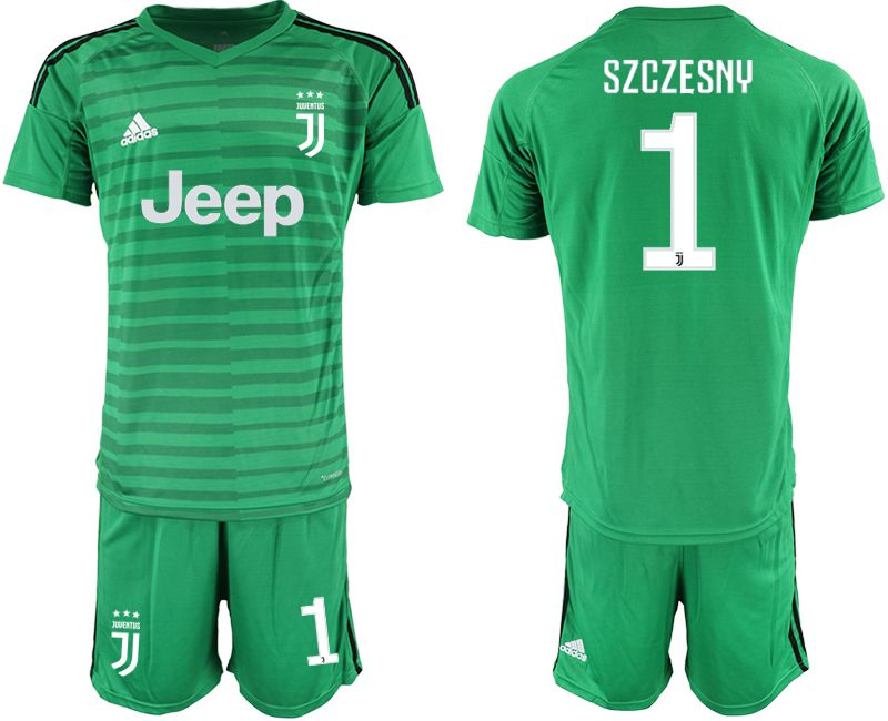 Men 2019-2020 club Juventus green goalkeeper 1 Soccer Jerseys1