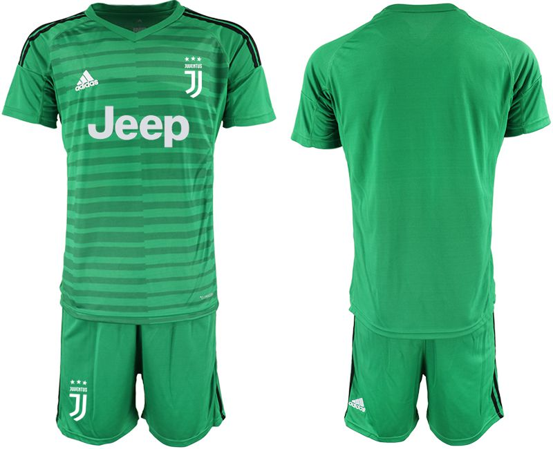 Men 2019-2020 club Juventus green goalkeeper Soccer Jerseys
