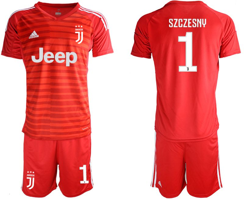 Men 2019-2020 club Juventus red goalkeeper 1 Soccer Jerseys1