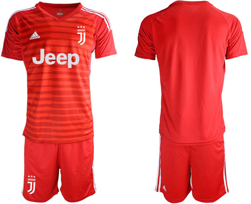 Men 2019-2020 club Juventus red goalkeeper Soccer Jerseys