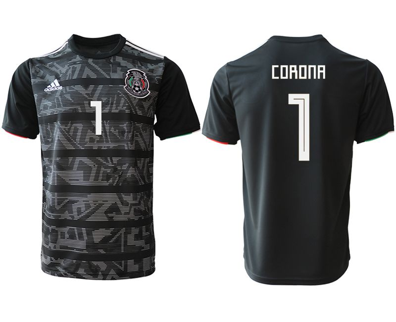Men 2019-2020 club Mexico away aaa version 1 black Soccer Jerseys