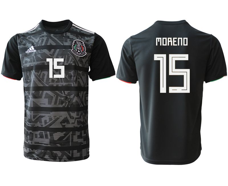 8bf947198 Men 2019-2020 club Mexico away aaa version 15 black Soccer Jerseys