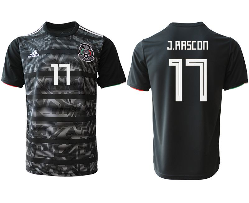 Men 2019-2020 club Mexico away aaa version 17 black Soccer Jerseys