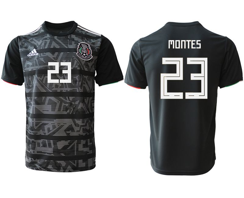Men 2019-2020 club Mexico away aaa version 23 black Soccer Jerseys