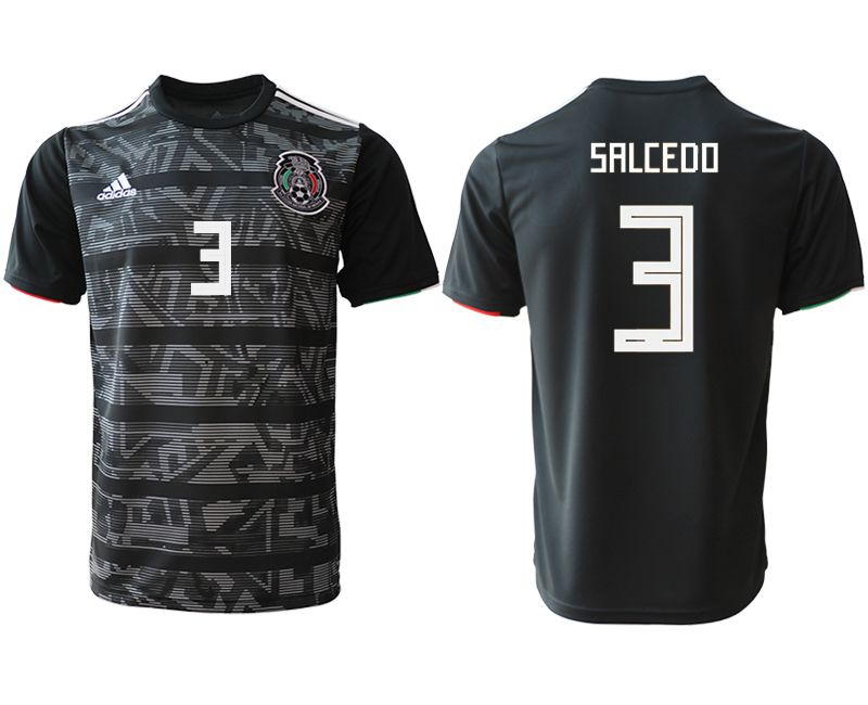 Men 2019-2020 club Mexico away aaa version 3 black Soccer Jerseys