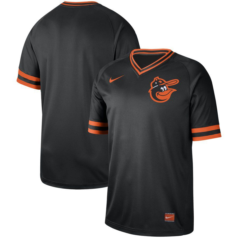 2019 Men MLB Baltimore Orioles blank black Nike Cooperstown Collection Jerseys