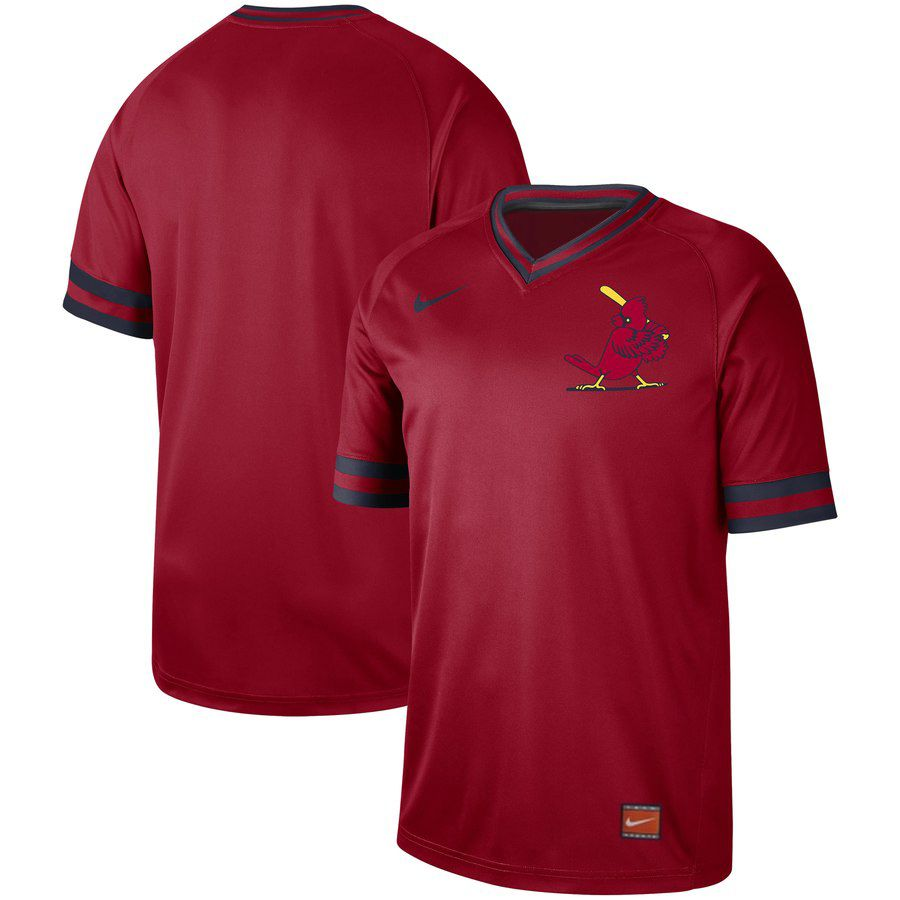 2019 Men MLB St.Louis Cardinals blank red Nike Cooperstown Collection Jerseys