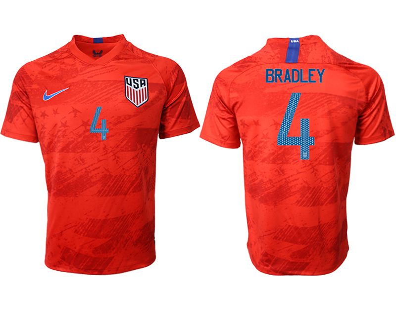 Men 2019-2020 Season National Team United States away aaa version 4 red Soccer Jerseys