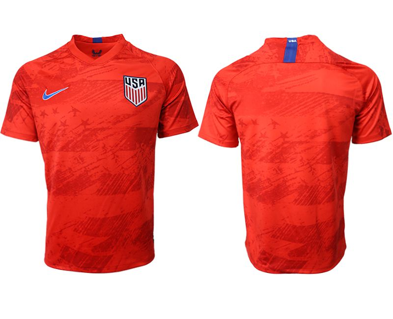 Men 2019-2020 Season National Team United States away aaa version red Soccer Jerseys
