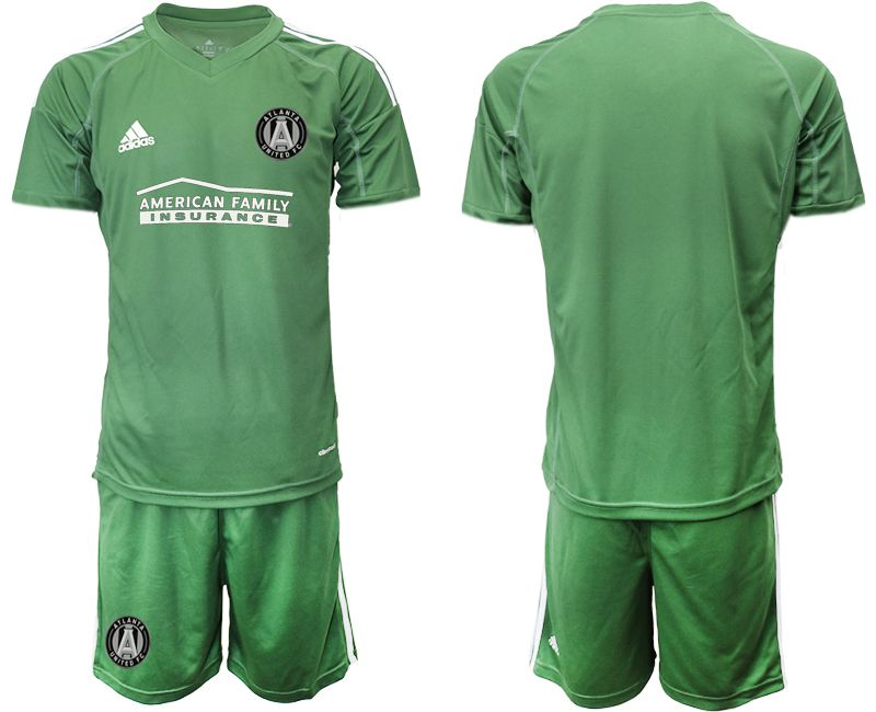 Men 2019-2020 club Atlanta United FC army green goalkeeper Soccer Jerseys