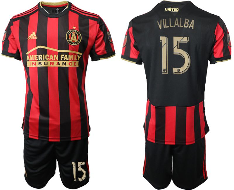 Men 2019-2020 club Atlanta United FC home 15 black Soccer Jerseys