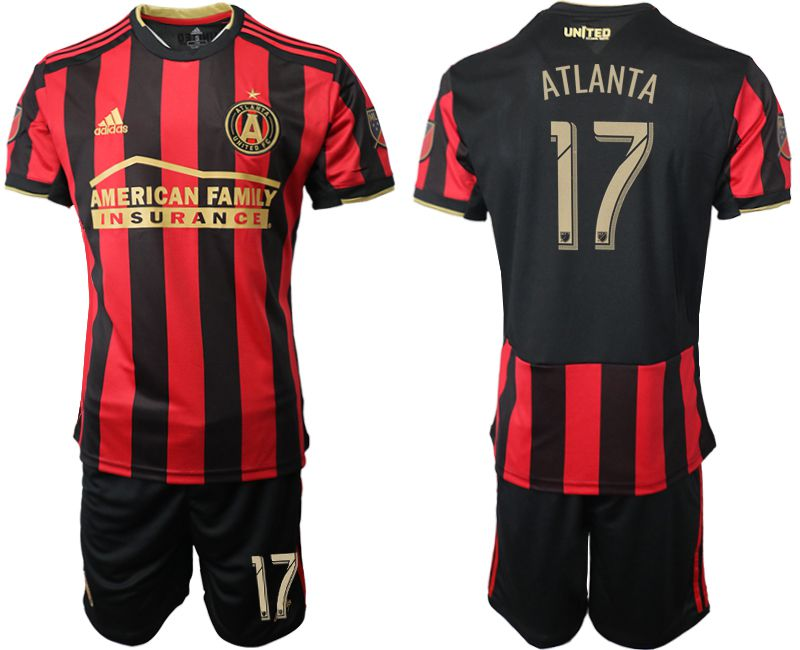 Men 2019-2020 club Atlanta United FC home 17 black Soccer Jerseys