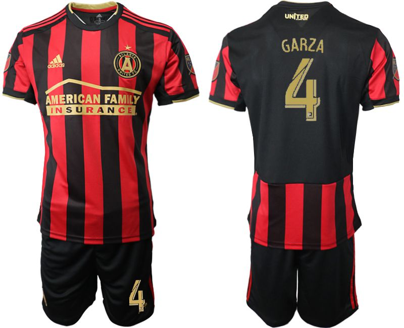 Men 2019-2020 club Atlanta United FC home 4 black Soccer Jerseys