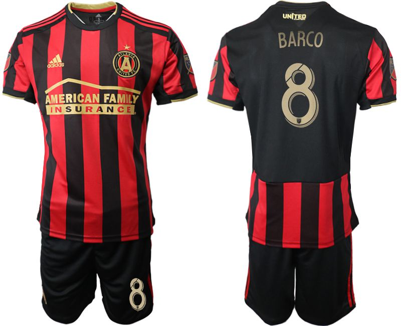 Men 2019-2020 club Atlanta United FC home 8 black Soccer Jerseys