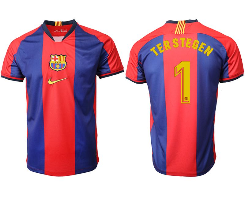 Men 2019-2020 club Barcelona home aaa version 1 red Soccer Jerseys