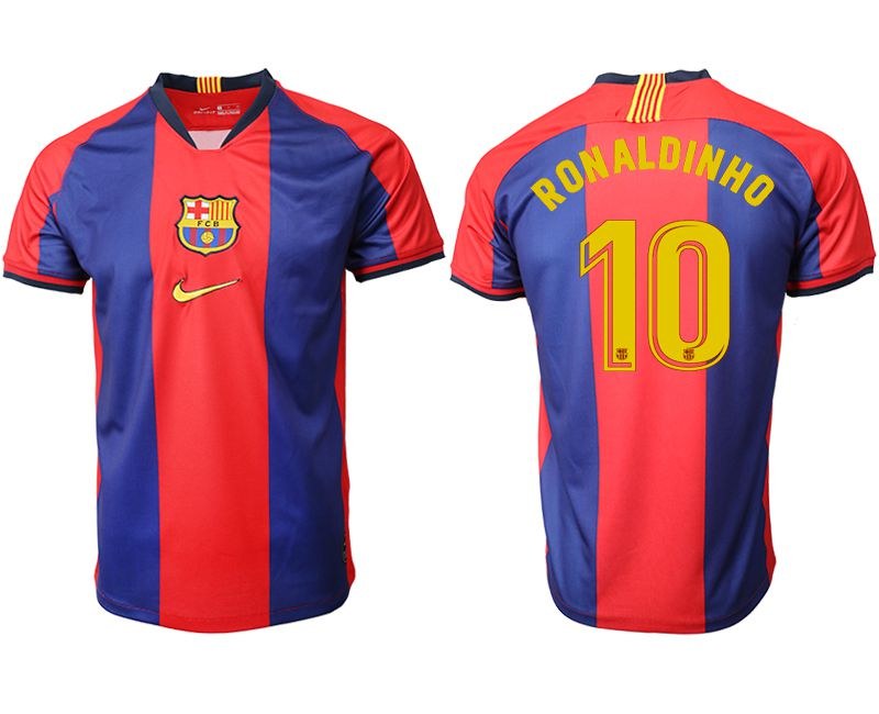 Men 2019-2020 club Barcelona home aaa version 10 red Soccer Jerseys1
