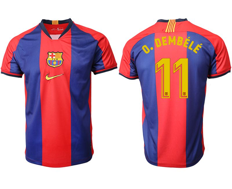 Men 2019-2020 club Barcelona home aaa version 11 red Soccer Jerseys