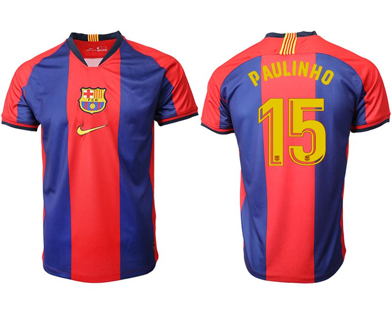Men 2019-2020 club Barcelona home aaa version 15 red Soccer Jerseys