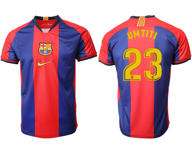 Men 2019-2020 club Barcelona home aaa version 23 red Soccer Jerseys