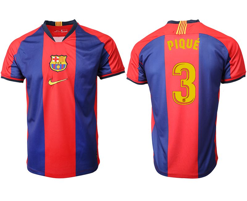 Men 2019-2020 club Barcelona home aaa version 3 red Soccer Jerseys