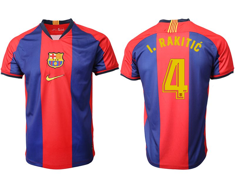 Men 2019-2020 club Barcelona home aaa version 4 red Soccer Jerseys