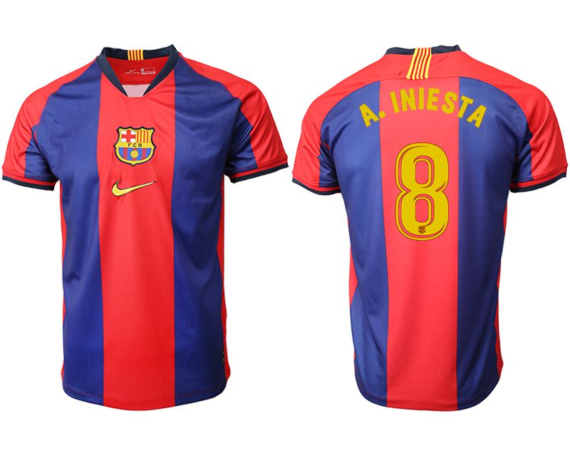 Men 2019-2020 club Barcelona home aaa version 8 red Soccer Jerseys