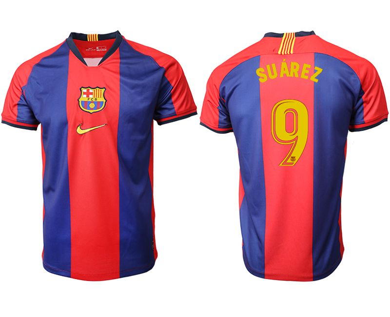 Men 2019-2020 club Barcelona home aaa version 9 red Soccer Jerseys