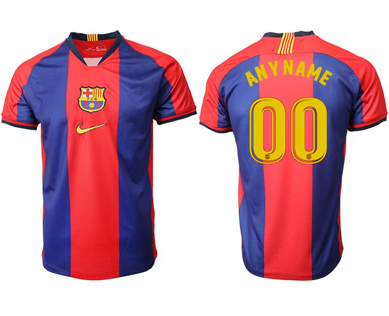 Men 2019-2020 club Barcelona home aaa version customized red Soccer Jerseys