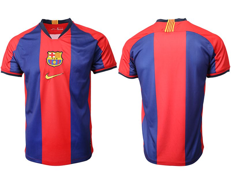 Men 2019-2020 club Barcelona home aaa version red Soccer Jerseys