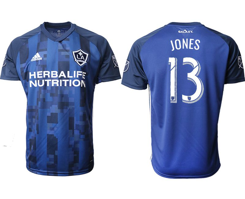Men 2019-2020 club Los Angeles Galaxy away aaa version 13 blue Soccer Jerseys