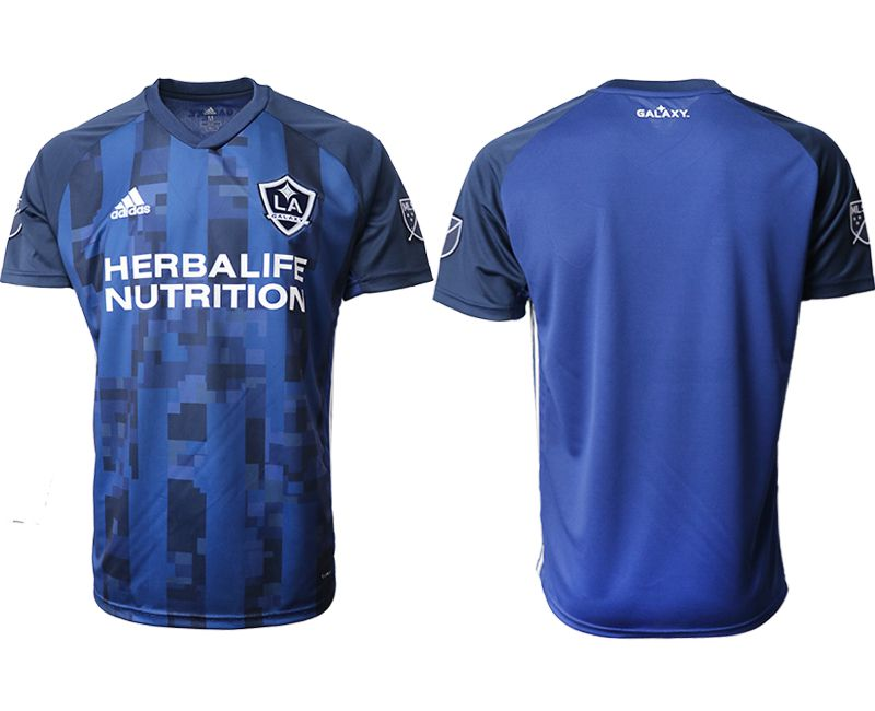Men 2019-2020 club Los Angeles Galaxy away aaa version blue Soccer Jerseys