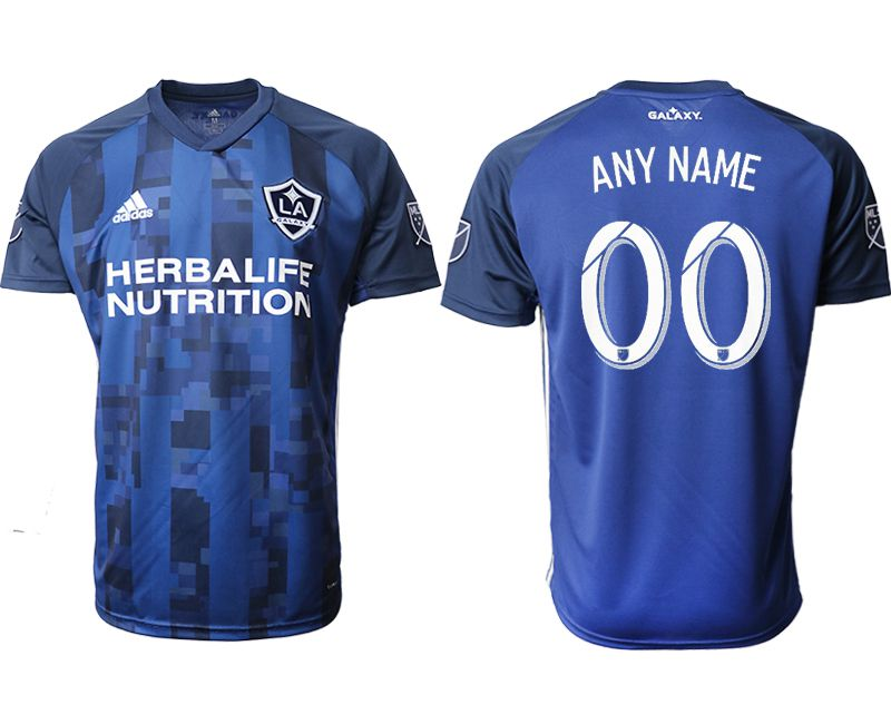 Men 2019-2020 club Los Angeles Galaxy away aaa version customized blue Soccer Jerseys