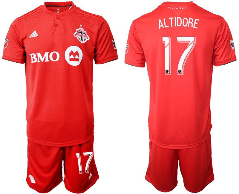 Men 2019-2020 club Toronto FC home 17 red Soccer Jerseys
