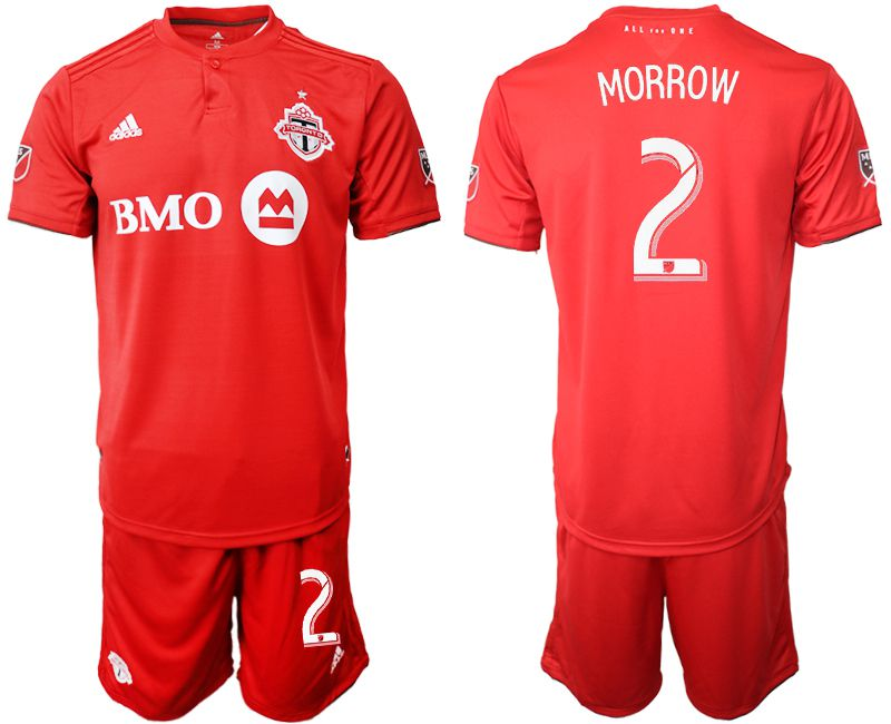 Men 2019-2020 club Toronto FC home 2 red Soccer Jerseys