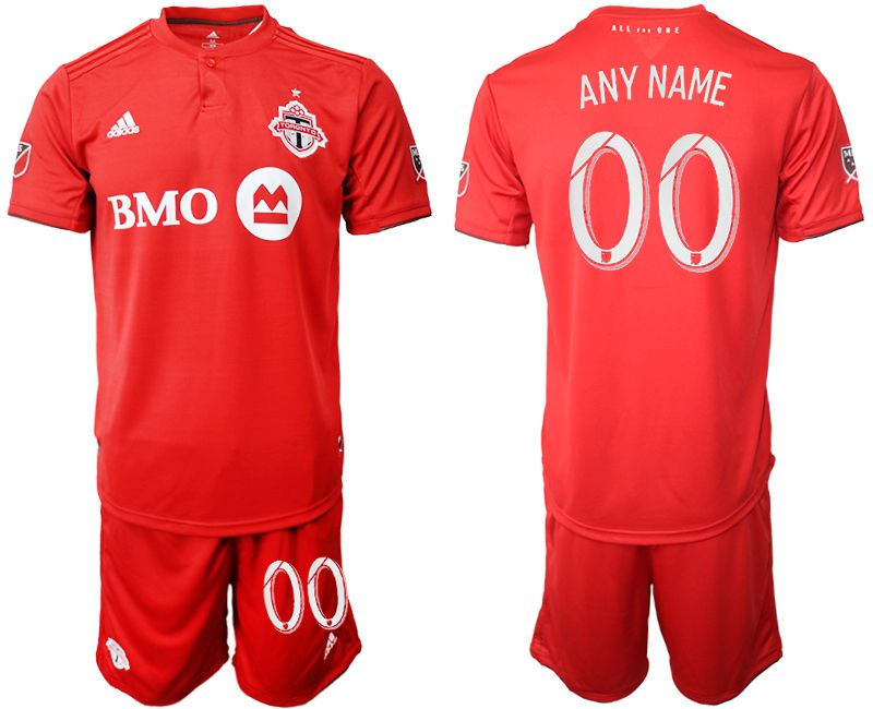 199a7bbffcc Men 2019-2020 club Toronto FC home customized red Soccer Jerseys .