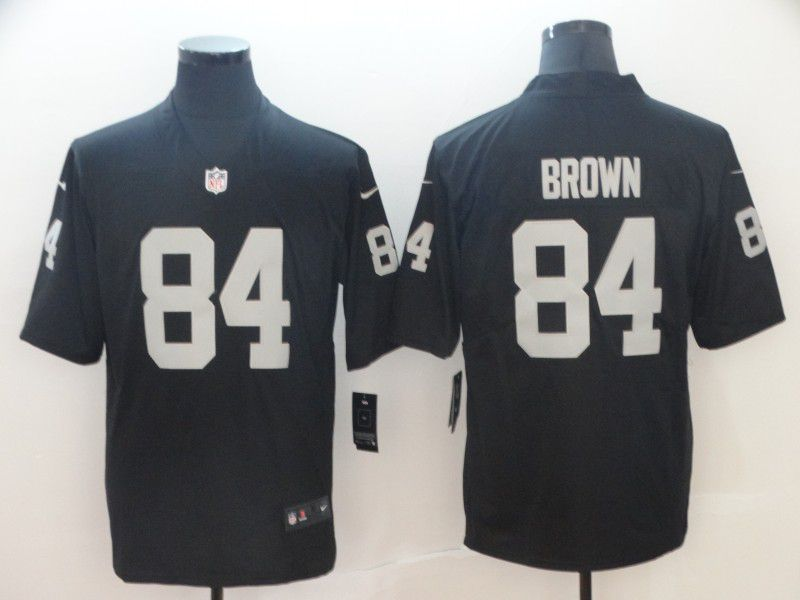 Men Oakland Raiders 84 Brown black Nike Vapor Untouchable Limited NFL Jerseys
