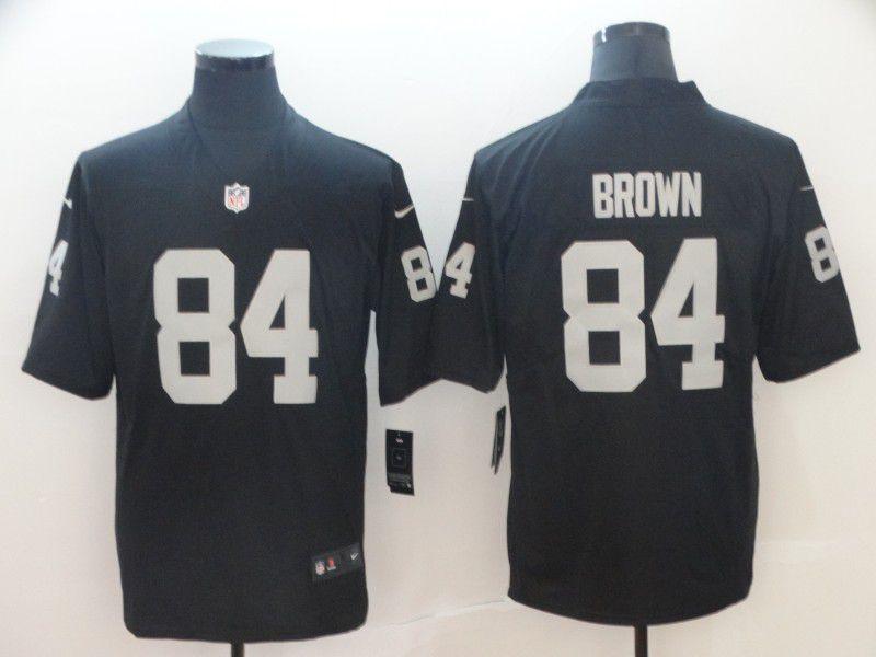 08fe665cd40 Men Oakland Raiders 84 Brown black Nike Vapor Untouchable Limited NFL  Jerseys