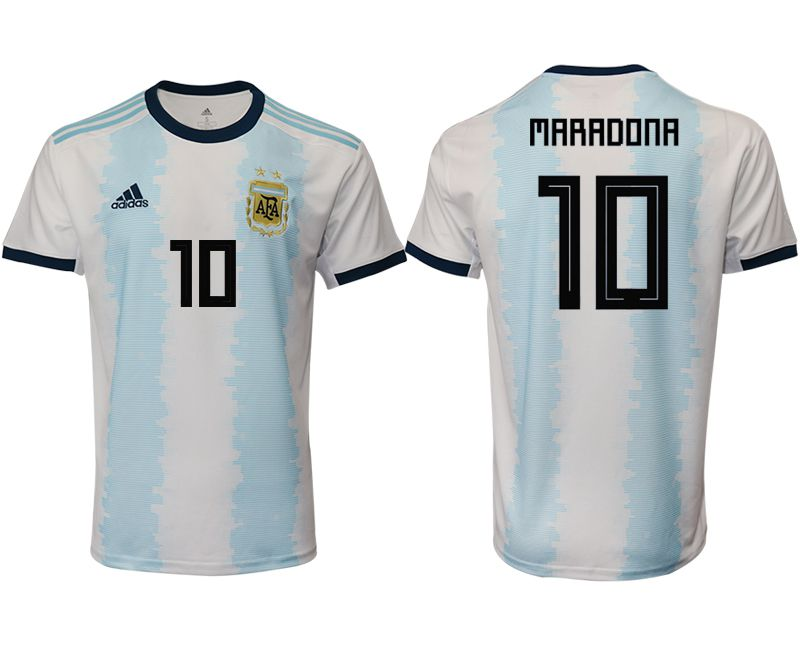 Men 2019-2020 Season National Team Argentina home aaa version 10 blue Soccer Jerseys1