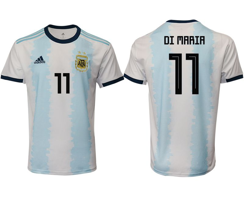 Men 2019-2020 Season National Team Argentina home aaa version 11 blue Soccer Jerseys