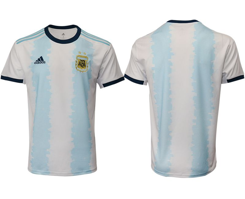 Men 2019-2020 Season National Team Argentina home aaa version blue Soccer Jerseys