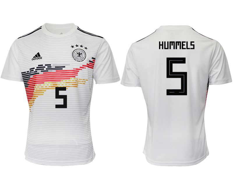 Men 2019-2020 Season National Team Germany home aaa version 5 white Soccer Jerseys