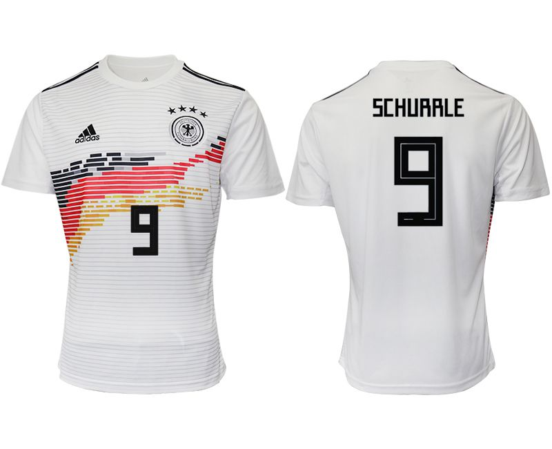 Men 2019-2020 Season National Team Germany home aaa version 9 white Soccer Jerseys