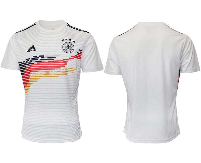 Men 2019-2020 Season National Team Germany home aaa version white Soccer Jerseys