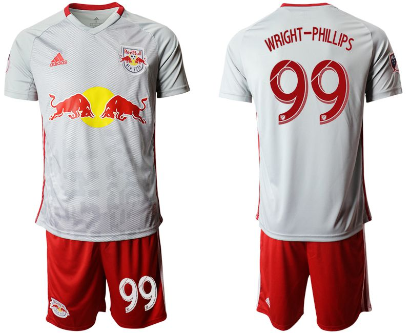 Men 2019-2020 club Red Bulls home 99 white Soccer Jerseys